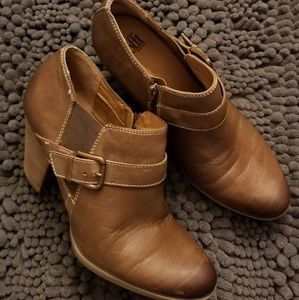 Cute and Comfortable Sofft Leather Booties